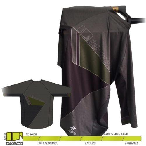 BikeCo 3-4 Sleeve Clean Back