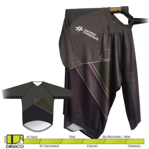 BikeCo 3-4 Sleeve Clean Front