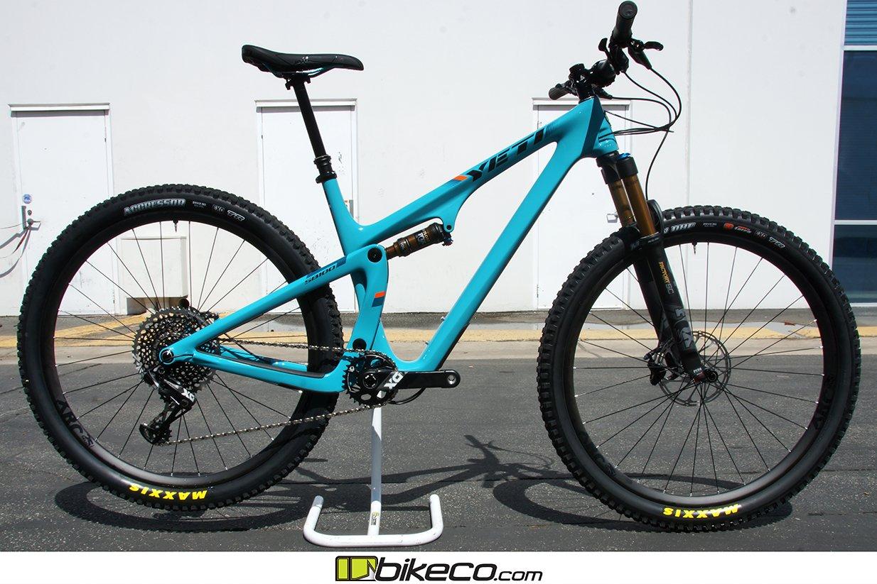 Yeti SB100 X01 Complete Build Pics - BikeCo com