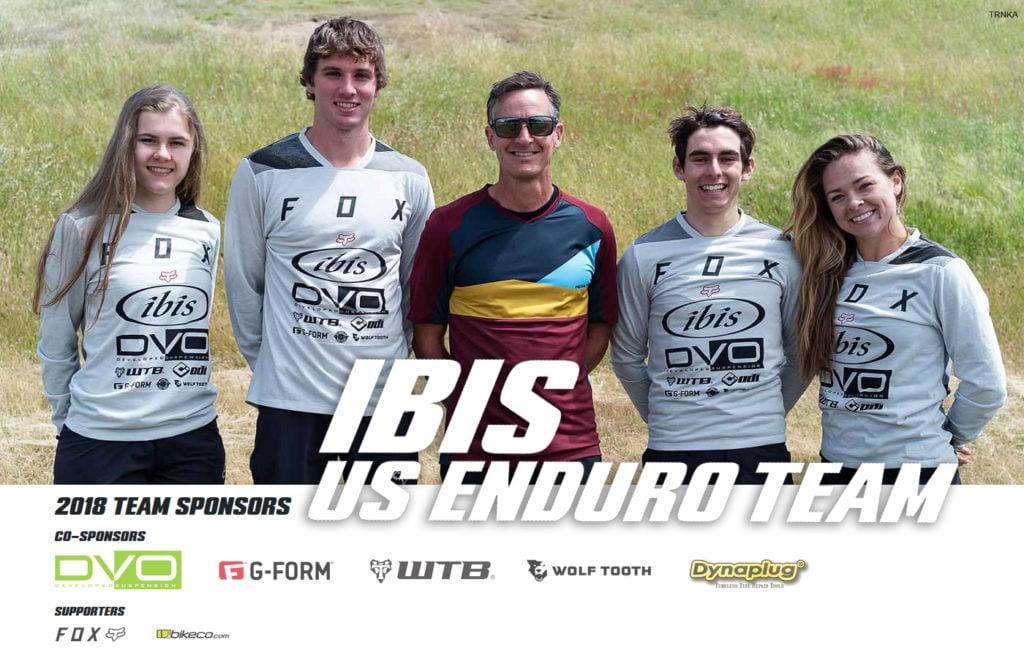 Ibis US Enduro Team Announcement