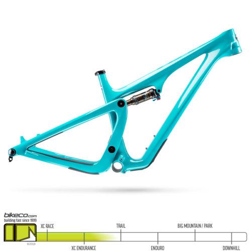 yeti sb100 frame turquoise