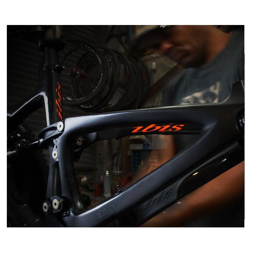 BikeCo Frame Prep on Ibis
