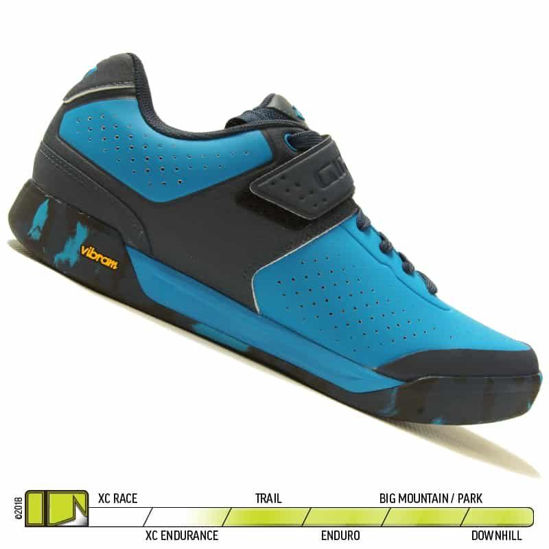 Giro Chamber II Blue Jewel Midnight Shoe