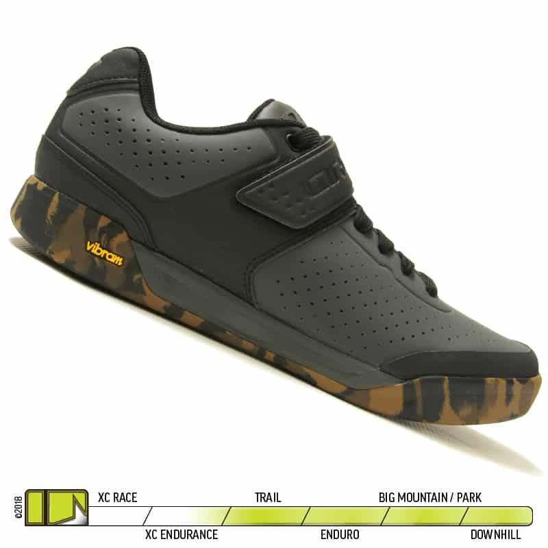 Giro Chamber II Dark Shadow Black Shoe