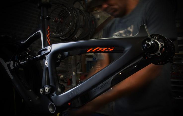 Ibis HD4 Frame Prep