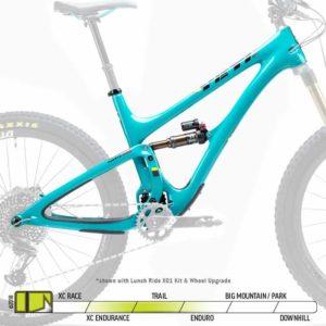 2019 Yeti SB5 Turquoise Frame