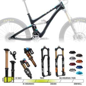 BikeCo Frame Builder 2019 Yeti SB5 Black Complete