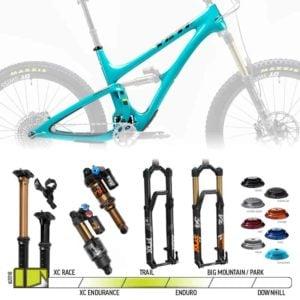 BikeCo Frame Builder 2019 Yeti SB5 Turqoise Complete