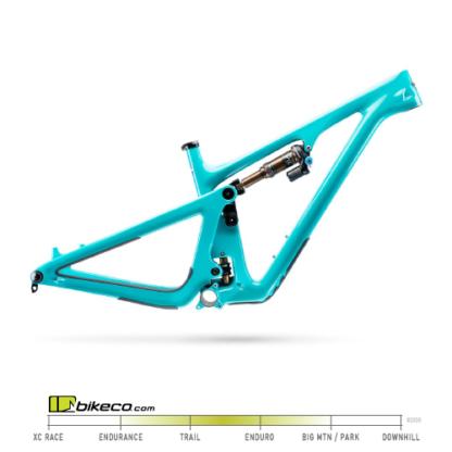 Turquoise Yeti SB130 Frame Only