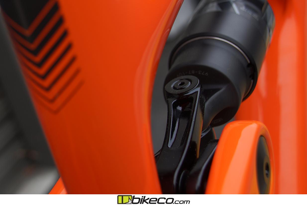 s Yeti SB150 frame pics Orange Frame Detail Picture 5