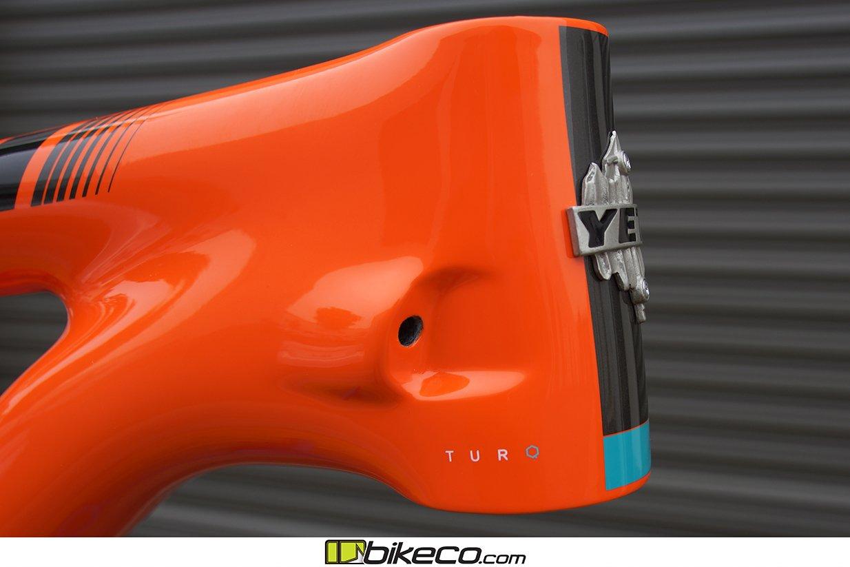 s Yeti SB150 frame pics Orange Frame Detail Picture 6