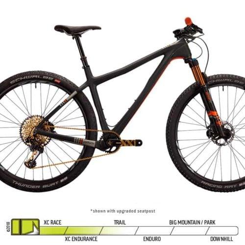 Ibis DV9 Hardtail XX1 Complete Black Orange