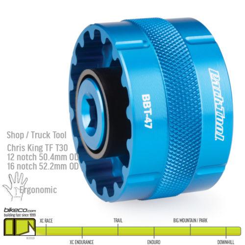 Park Tool BBT-47 Bottom Bracket Tool chris king thread fit 30