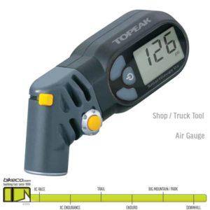Topeak SmartGauge D2 Digital Pressure Gauge UPC 883466003323 Air