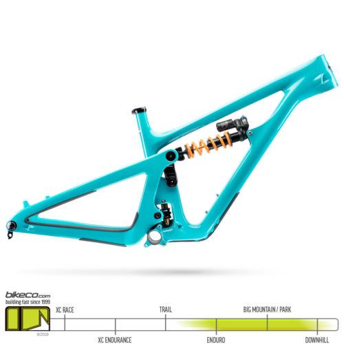 yeti sb165 frame turquoise