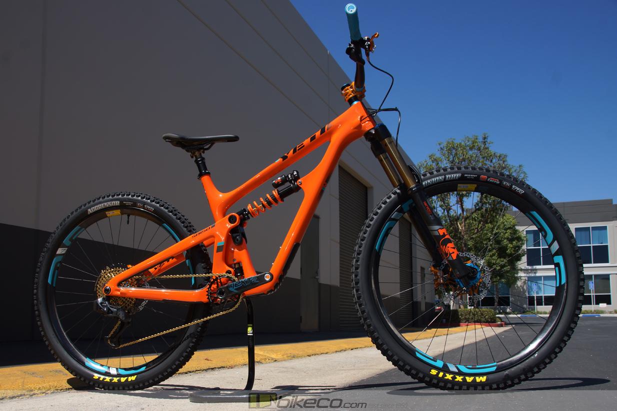 Yeti SB150 custom build profile