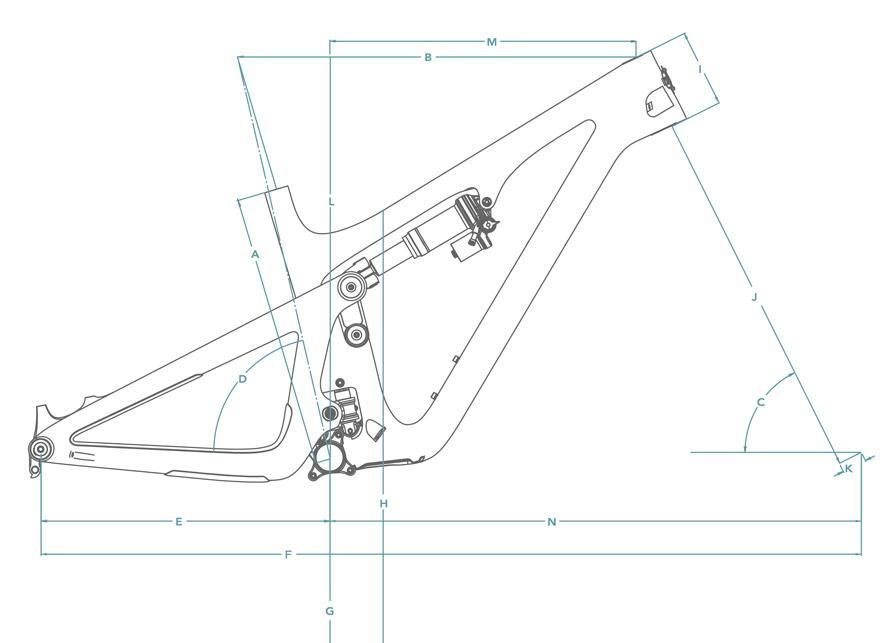 Yeti SB140 Geometry Chart