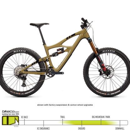 Ibis HD5 SLX Brown Pow Upgrades