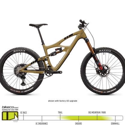 Ibis HD5 XTR Brown Pow Upgrades