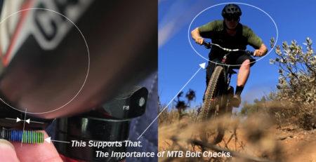 importance of mountain bike bolt checks