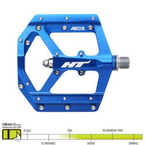 HT AE03 Evo Pedals Blue