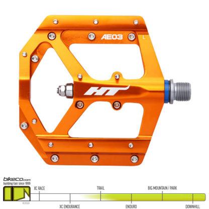 HT AE03 Evo Pedals Orange