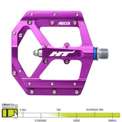 HT AE03 Evo Pedals Purple