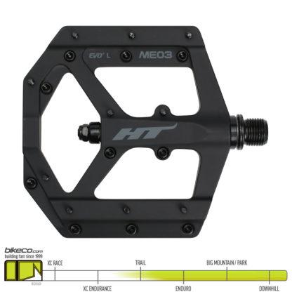 HT ME03 Evo Pedals Stealth Black