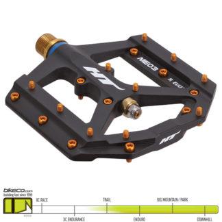 HT ME03 Evo Ti Pedals Black