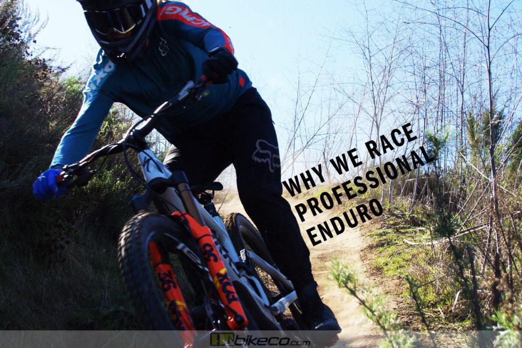 Why We Race Professional Enduro BikeCo Cody Kelley