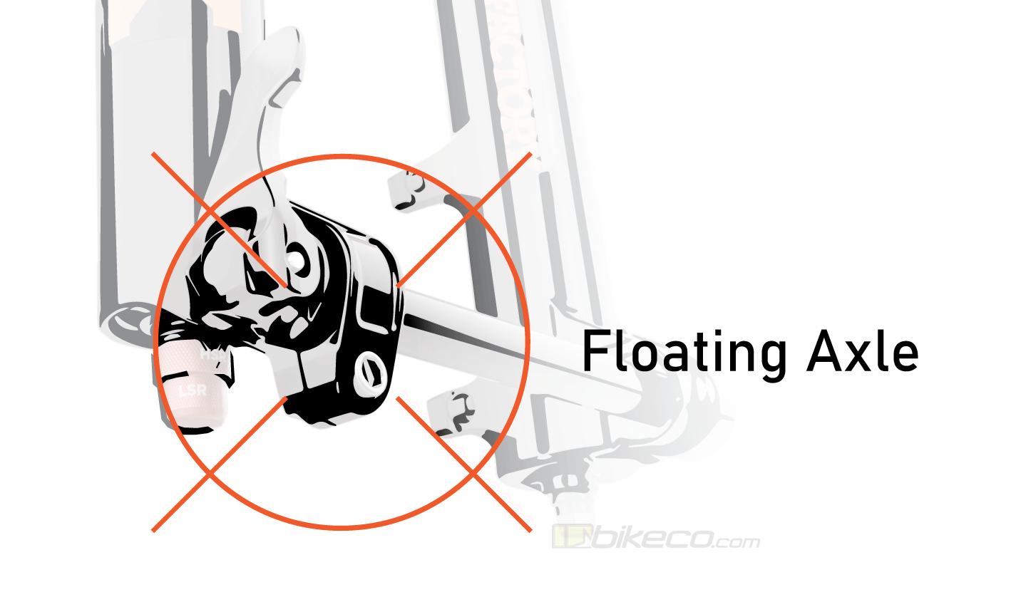 Fox Float 38 36 Fork Floating Axle