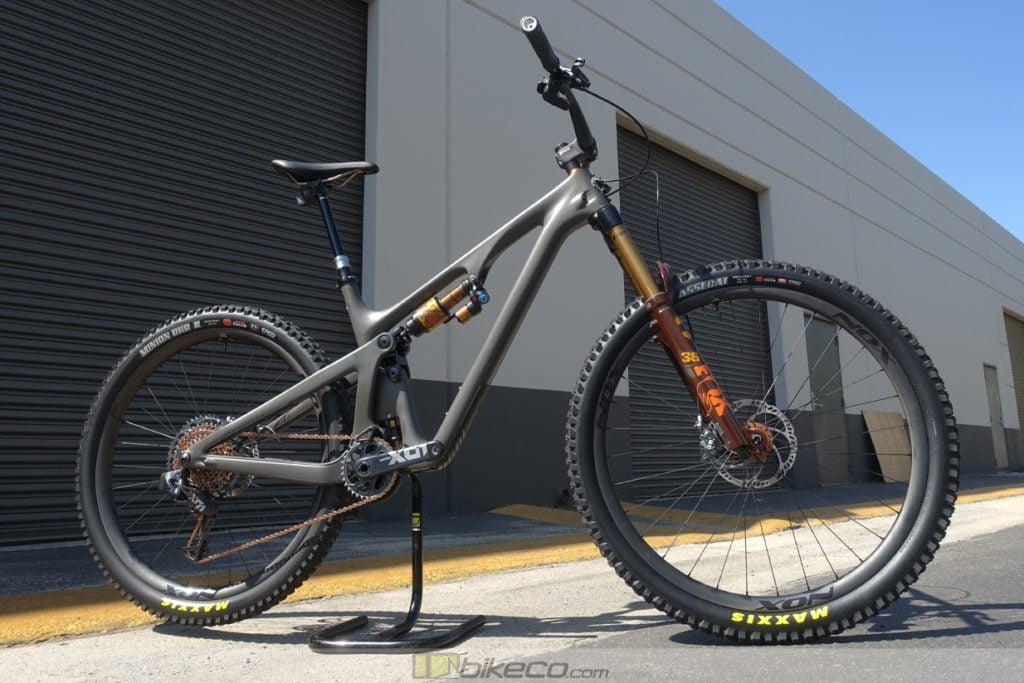 Yeti SB130 Lunch Ride Custom Build
