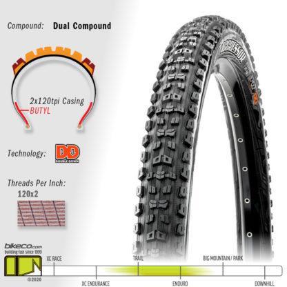 Aggressor DD Double Down Dual Compound Tire