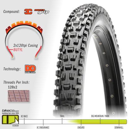 Assegai 3C DD DoubleDown MaxxGrip Tire