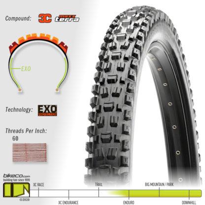 Assegai 3C EXO MaxxTerra Tire