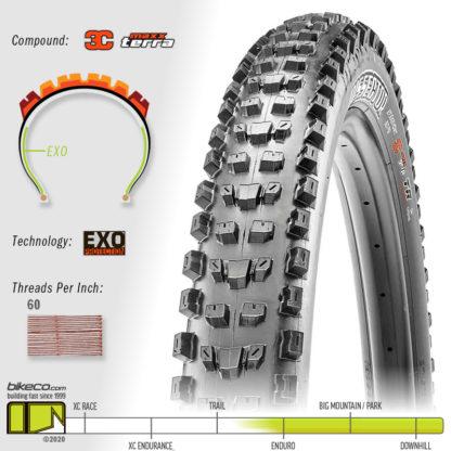 Dissector EXO 3C MaxxTerra Tire