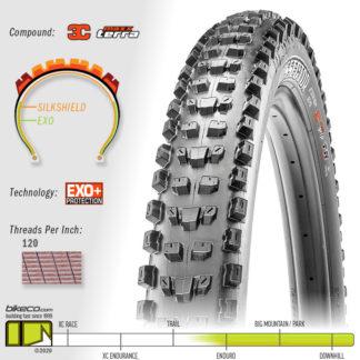 Dissector EXO+ 3C MaxxTerra Tire