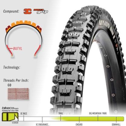 Minion DHR II 3C DH MaxxGrip Tires