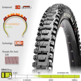 Minion DHR II 3C EXO Plus MaxxTerra Tire