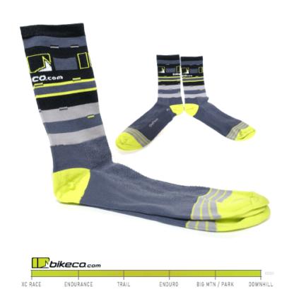 BikeCo Socks Lines & Logos