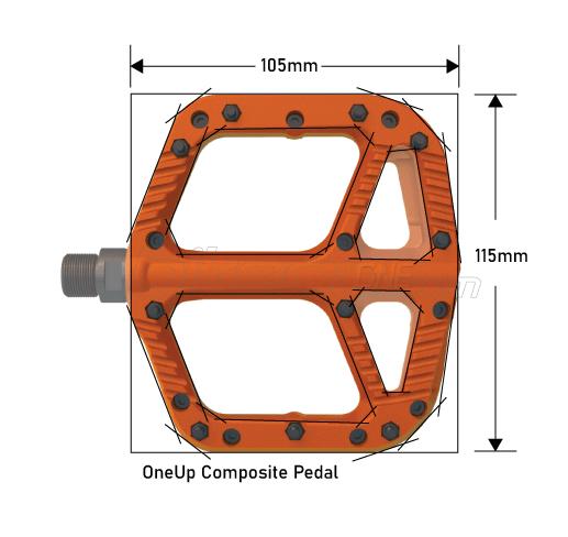 OneUp Components Comp Pedals