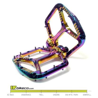 OneUp Components Aluminum Pedals Oil Slick Color