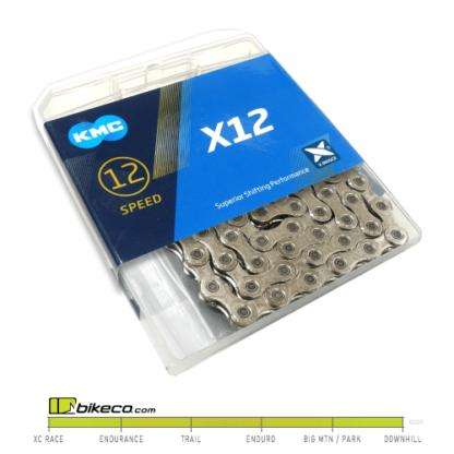 KMC X12 Silver 12sp Chain