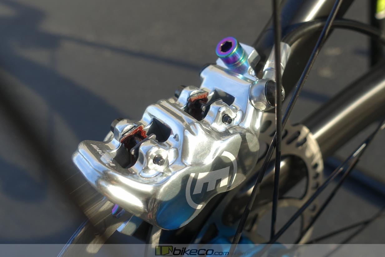 Magura 4 piston brake caliper
