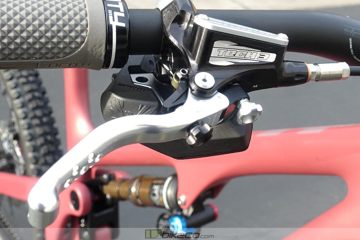 Custom color Hope Tech3 V4 Brakes by BikeCo