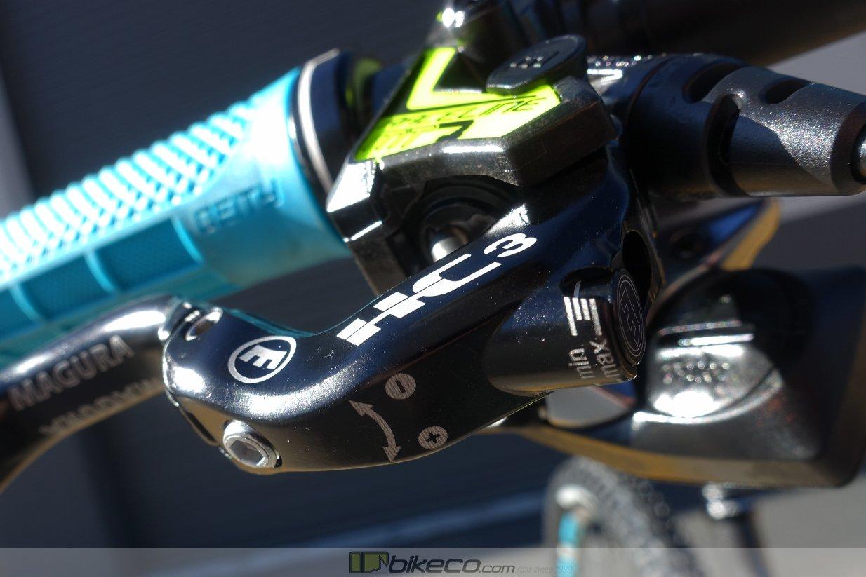 Magura MT7 Raceline Lever detail