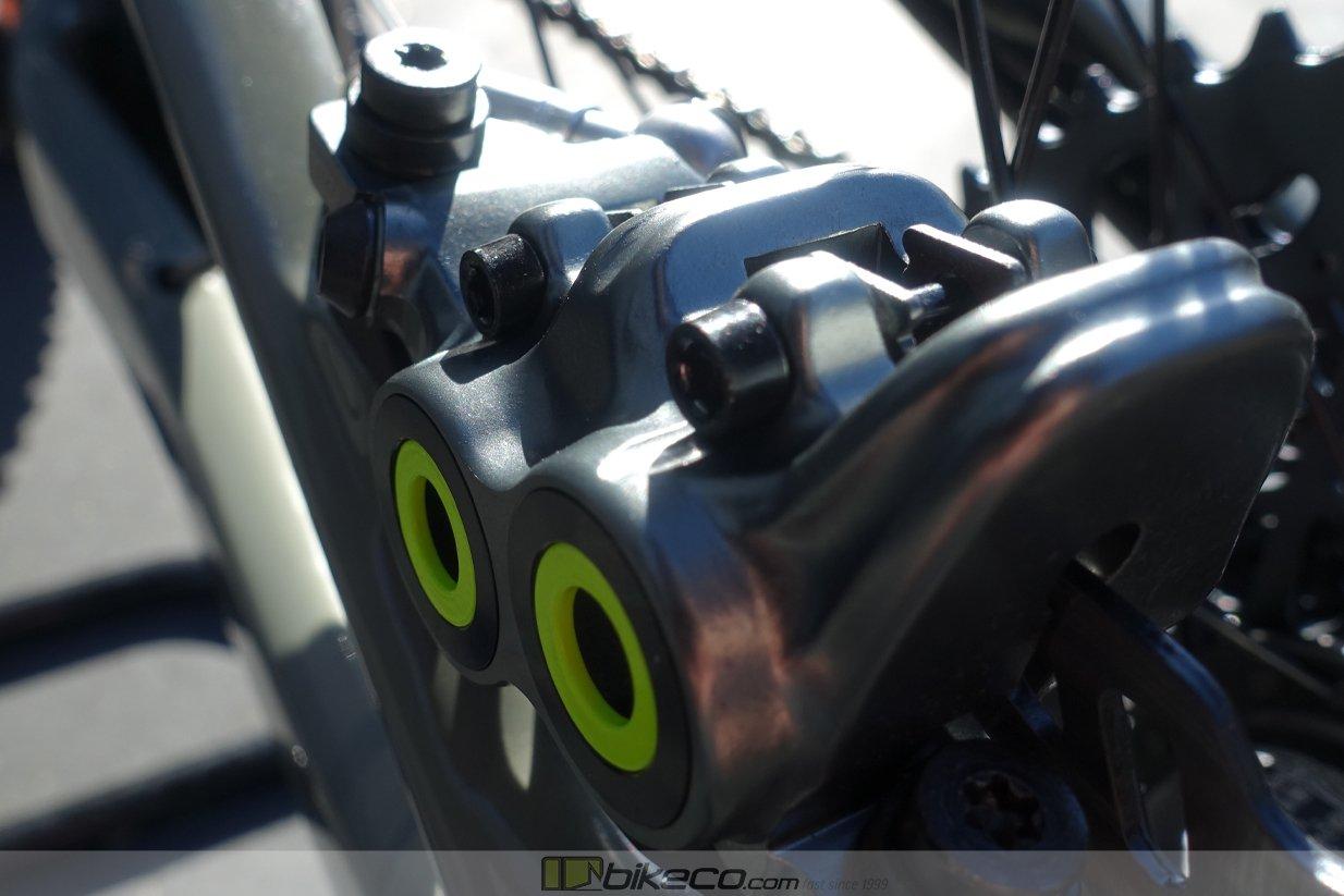 Magura MT7 4 piston caliper detail