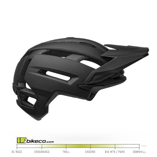 Bell Super Air Spherical Helmet Matte / Gloss Black
