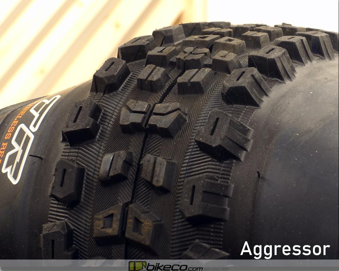 Maxxis Aggressor MTB Tire Profile