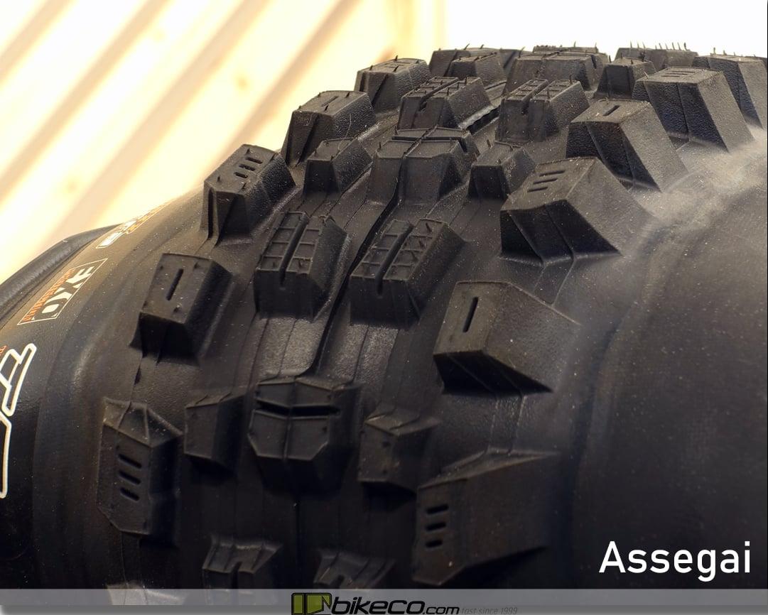 Maxxis Assegai MTB Tire Profile